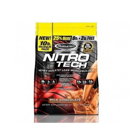 MuscleTech Nitrotech Whey Isolate 10lb 4.5 кг