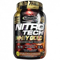 Nitro-tech 100% Whey Gold...
